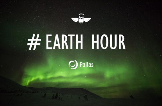 earth hour pallaksella. jo perinne!