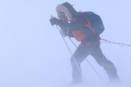 Hiihto yli Grönlannin – Heini Koivuniemen luontoilta Aurorassa, Saariselkä
