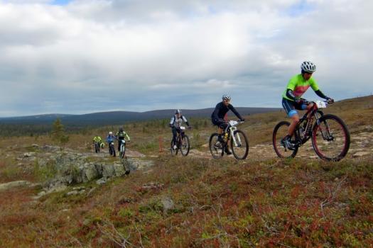 Saariselkä MTB Stages-Maastopyöräilyn etappikisa, Saariselkä