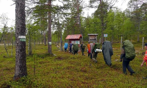 Piilolan polun juhlavaellus Suomesta Norjaan