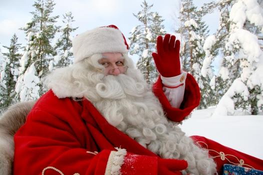 Joulupukki matkaan jo käy, Rovaniemi