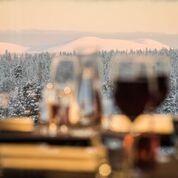 Viinin ja Virsien ilta Polar Kodassa Oloksella