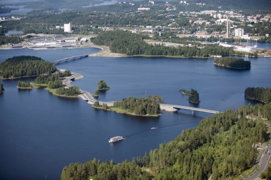 Kuopio from the air