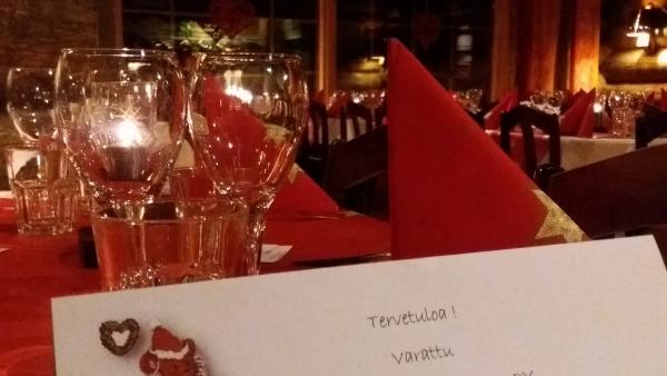 Luoston Keloravintola, Revontulipäivällinen
