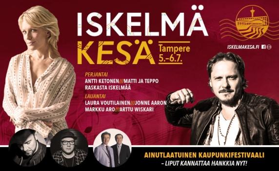 Iskelmä Kesä 2019 Tampereella