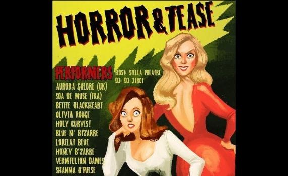 Horror & Tease Show -halloween juhlat Tullikamarin klubilla