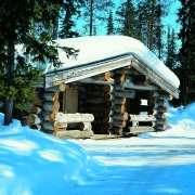 lapland-hotel-akashotelli-log-cabin-out-door