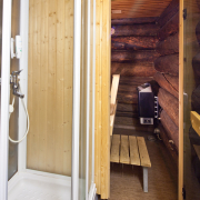 laplandhotels-akashotelli-logcabin-sauna