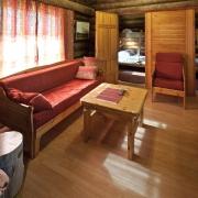 lapland-hotel-luostotunturi-log-cabin-inside-2bedrooms