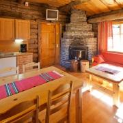 lapland-hotel-luostotunturi-log-cabin-inside-2bedrooms-2-