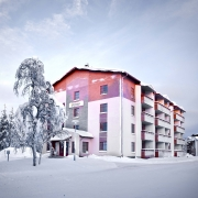lapland-hotel-riekonlinna-apartments-building-out-door-spring-time