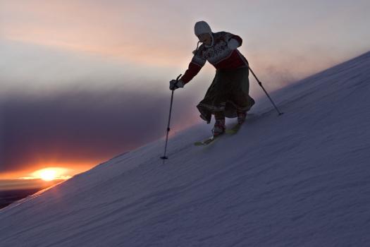Uuden vuoden soihtulasku, Ylläs-Ski